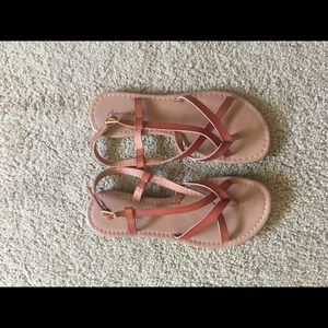 BRAND NEW American eagle sandals
